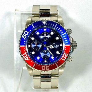 Invicta Men's 43mm Stainless Steel Preowned Watch